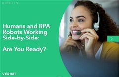 Humans and RPA Robots Working Side-by-Side: Are You Ready, Robotic Process Automation, Hybrid Workforce